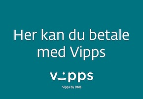 We now accept Vipps payments